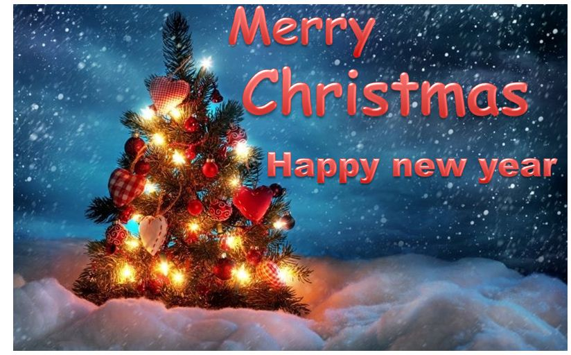 Wishing Happy Christmas Card