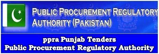 ppra Punjab – PPRA Punjab Tenders Check Online Register