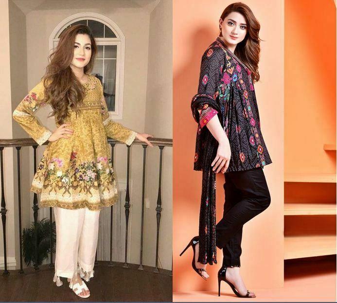 Girl Short Kurti Designs 2019 Eid-ul-Fitr
