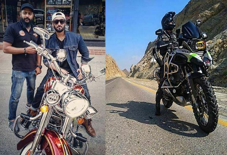 Umair Jaswal Motorbike Images