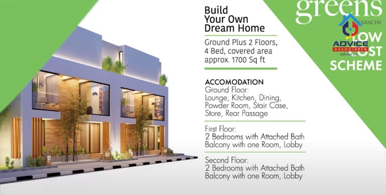 Bahira Green Karachi Residence Structure