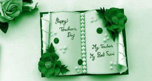 Sweet Teachers Day Wising Cards