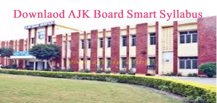 AJK Board Short Syllabus 9th & 10th Classes