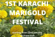 Marigold Festival Karachi Pakistan