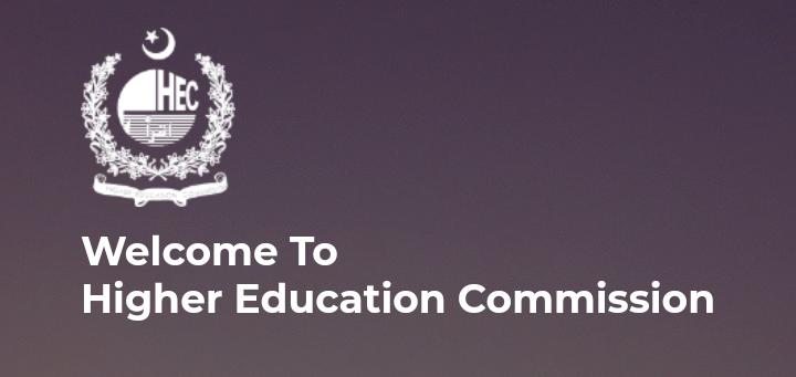 HEC Portal Higher Education Commission Pakistan