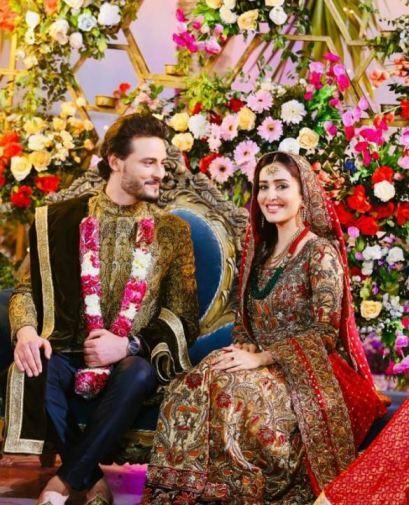 Usman Khalid Wedding Picture Sidra Niazi