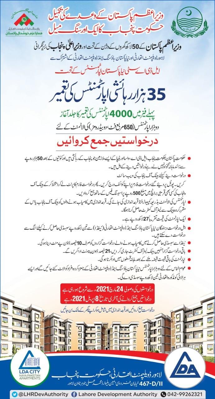 PM Imran Khan Naya Housing Scheme 2021