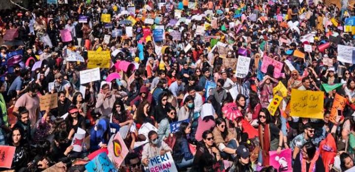 Aurat March Pakistan Revolutionary Day
