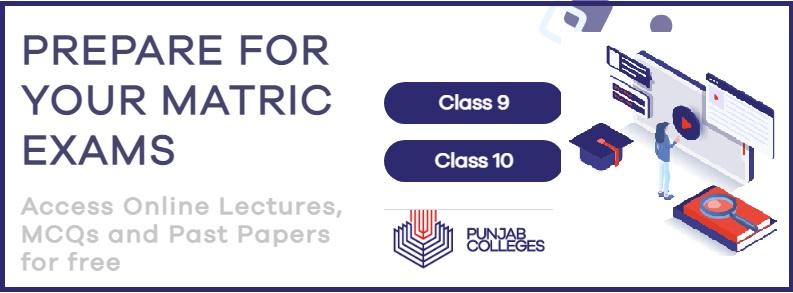 Matric Exam Preparation Online Portal Free SSC