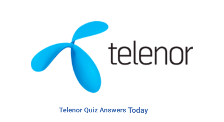 Telenor Quiz Answers 18 May 2021