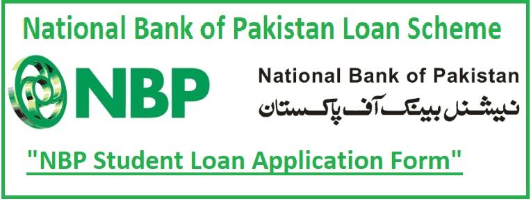 National Bank of Pakistan Loan Scheme 2021