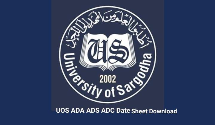 UOS ADA ADS ADC Date Sheet 2021