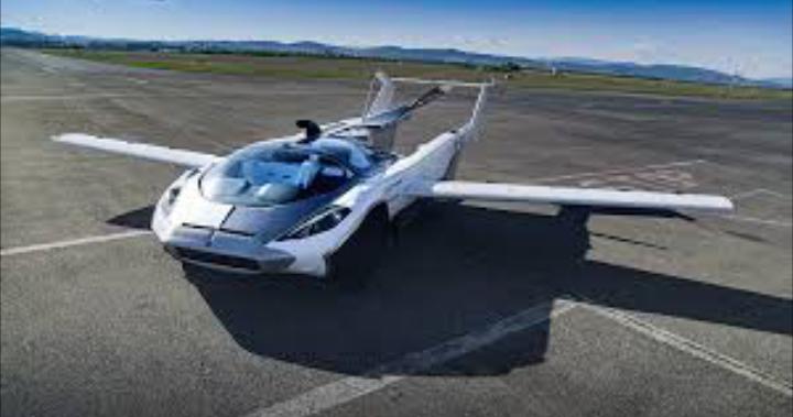 Flying Car Test Flight Bratislava Salovika