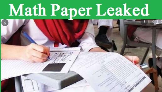 On Monday Matric Maths Paper Leaked 2021 BSEK on Social Media